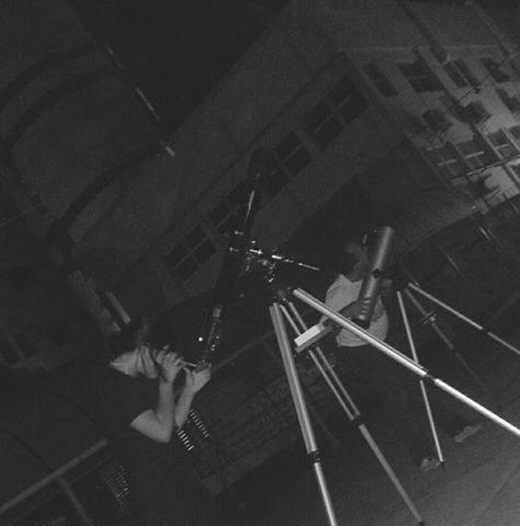 """O projeto """"De Olho no Céu de Teresina"""" é desenvolvido pelo IFPI-DIREX/THC/GSS. Crédito: Danilo Alefe."""